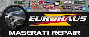 EuroHaus Maserati RepairMaserati Repair